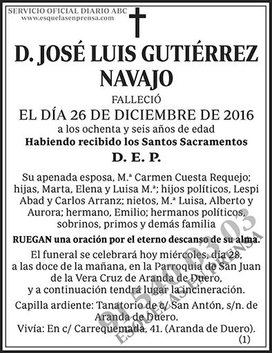 José Luis Gutiérrez Navajo